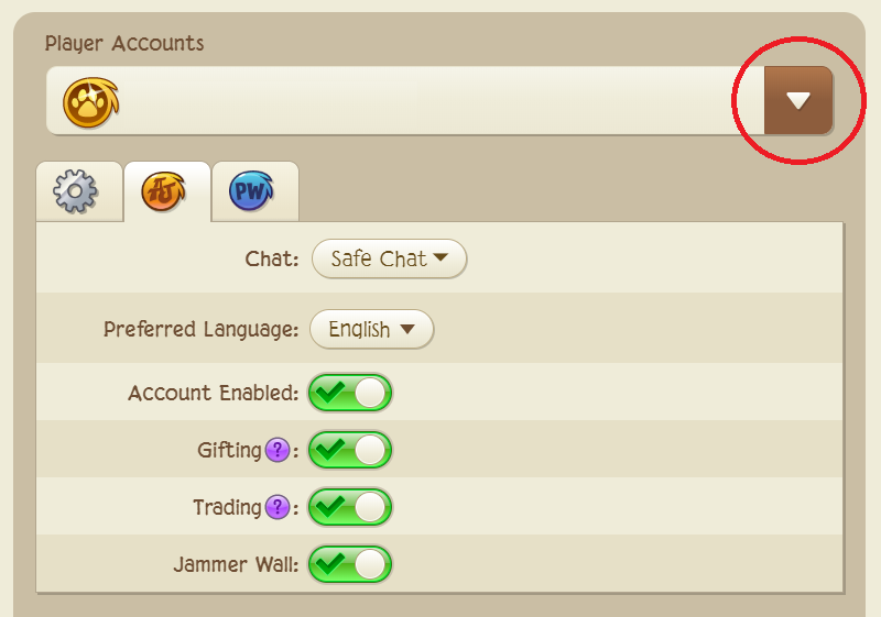 Image of: Got Banned Capture1png Animal Jam Help Center How Do Change My Childs Chat Settings Animal Jam Help Center